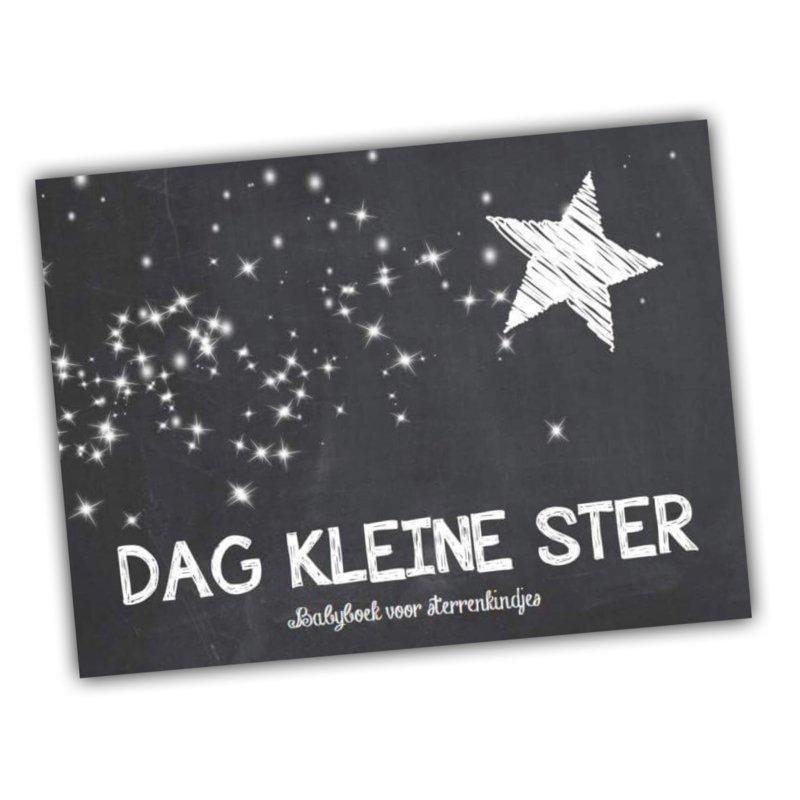 Dag Kleine Ster Babyboek Voor Sterrenkindjes Krijtbord Drukke