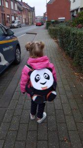 Maylis met Paul de Panda!