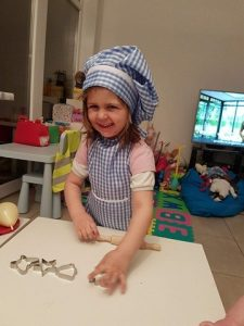 Morgane, kleine chef in wording!