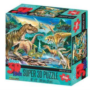 Prime 3D puzzel Dinosaurus vallei (150 stuks) (1)