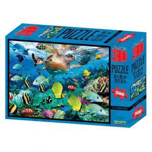 Prime 3D puzzel Oceaan (500 stuks) (1)