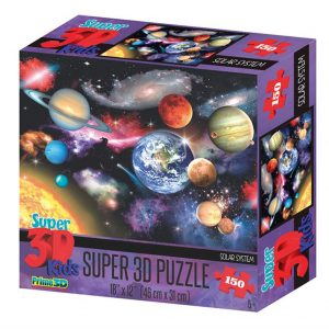 Prime 3D puzzel Zonnestelsel (150 stuks) (1)