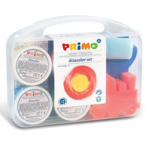 Primo koffer met 4 kleuren vingerverf 100gr (1)