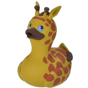 badeend 10 cm giraf