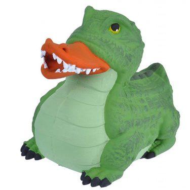 badeend 10 cm krokodil