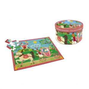 Scratch puzzel Prinsessenkoets (60 stukjes) (2)