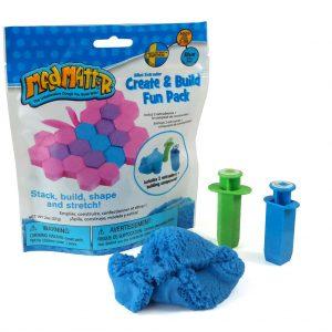 Mad Mattr Create & Build Fun Pack Blauw (57 gram)