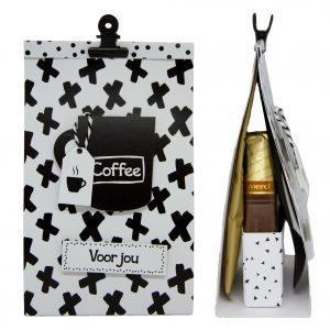 Koffietasje met lekkers