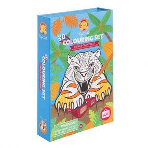 Tiger Tribe Kleurset Fierce creatures (2)