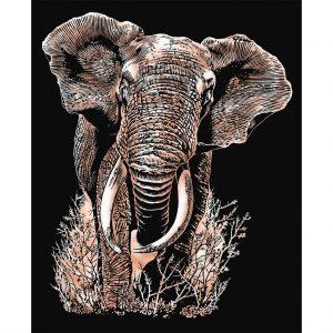 0539 Artfoil Copper - Elephant
