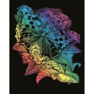 0541 Artfoil Rainbow Butterfly