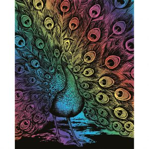 0543 Artfoil Rainbow Peacock