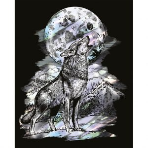 Artfoil Holographic Wolf