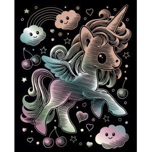 1818 Kawaii Holographic Unicorn