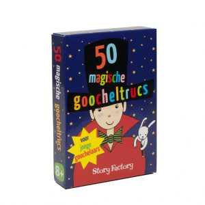 Kaartspel doosje 50 magische goocheltrucs