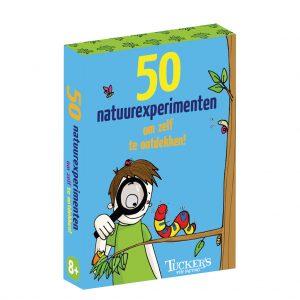 Kaartspel doosje 50 natuurexperimenten om zelf te ontdekken