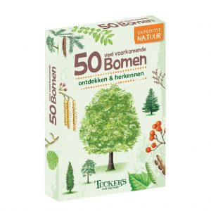 Kaartspel doosje Expeditie Natuur - 50 Bomen