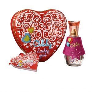 Oilily Lucky girl set EDT 50ml + notitieboekje + luxueus hart tin