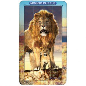 Magna Puzzle Portrait (Lions)