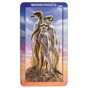 Magna Puzzle Portrait (Meerkats)