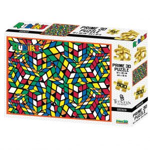 Prime 3D puzzel - Rubiks Geeked (500 stuks)