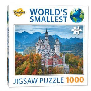World's smallest puzzel (1000 stukjes) - Neuschwanstein Castle