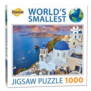 World's smallest puzzel (1000 stukjes) - Santorini