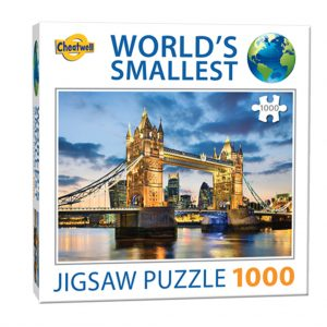 World's smallest puzzel (1000 stukjes) - Tower Bridge