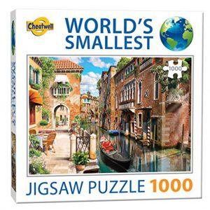 World's smallest puzzel (1000 stukjes) - Venice Canale
