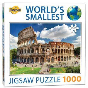 World's smallest puzzel Colosseum