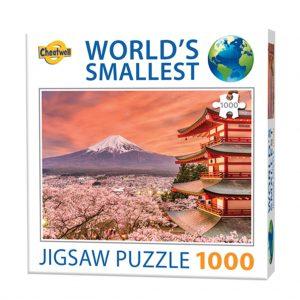 World's smallest puzzel Mount Fuji