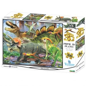 Dinosaurussen 3D puzzel