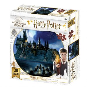 Harry Potter kasteel 3D pu