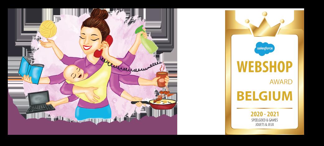 Drukke Mama's logo